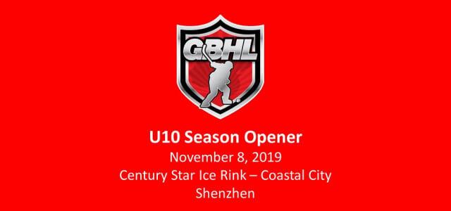 U10 Season Opener - Nov 8