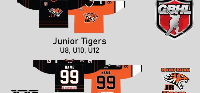 Junior Tigers U8, U10 and U12