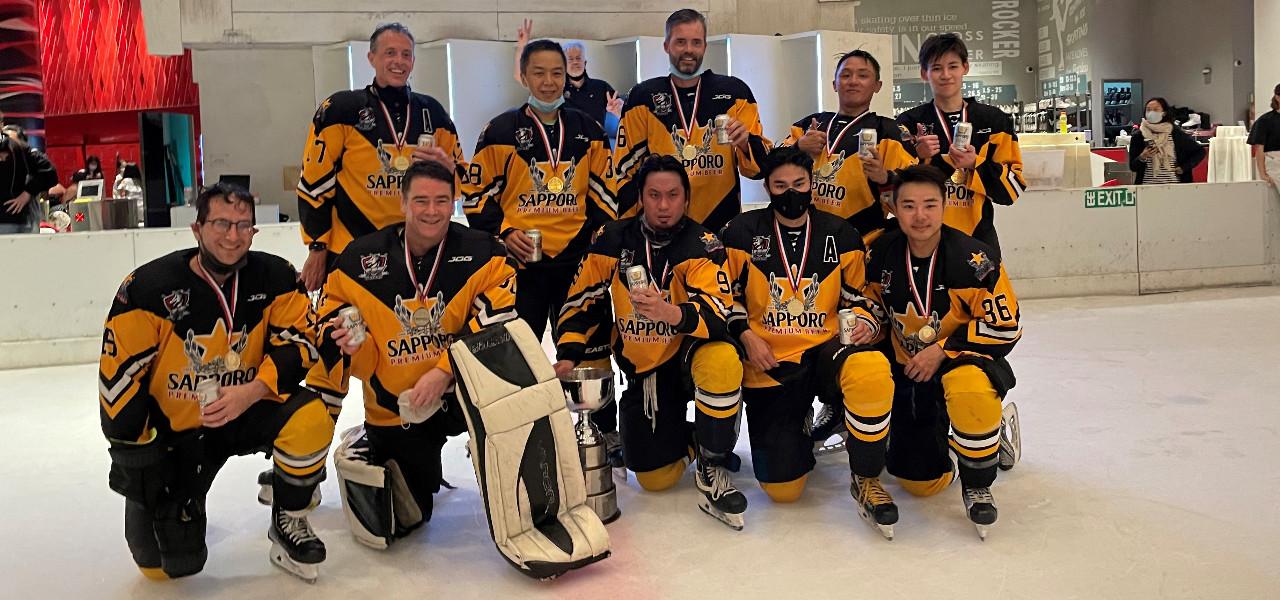 SCIHL 2020-21 Champions - Sapporo